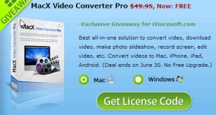 MacX Video Converter Pro FREE