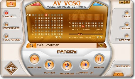 Voice Changer Software Gold Coupon code 30% OFF 2015