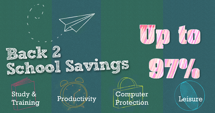 Back to School Promotion 2014, Buy Software & Save Big