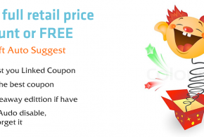 iVoicesoft Chrome Extension: Auto suggest Linked coupon and giveaway software