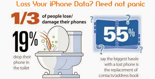 Top 10 reasons why you lost  iPhone data & How to Recover