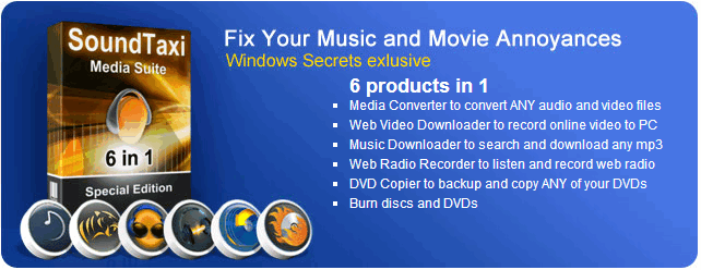 SoundTaxi Media Suite Coupon: 60% discount OFF