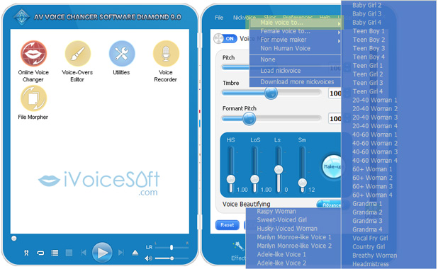 AV Voice Changer Software Activation code - iVoicesoft com