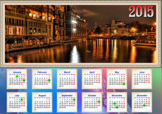 Photo Calendar Creator PRO - Final result