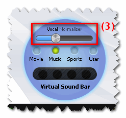 Voice nomalizer