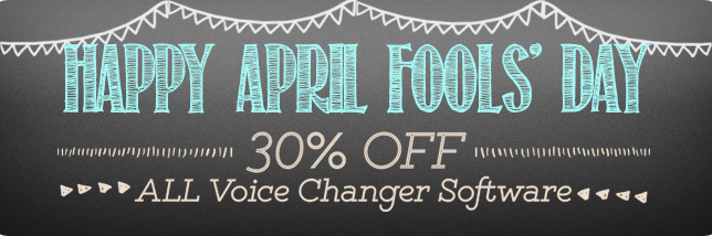 Celebrate April Fools' Day Creatively With Audio4fun's 30% Discount