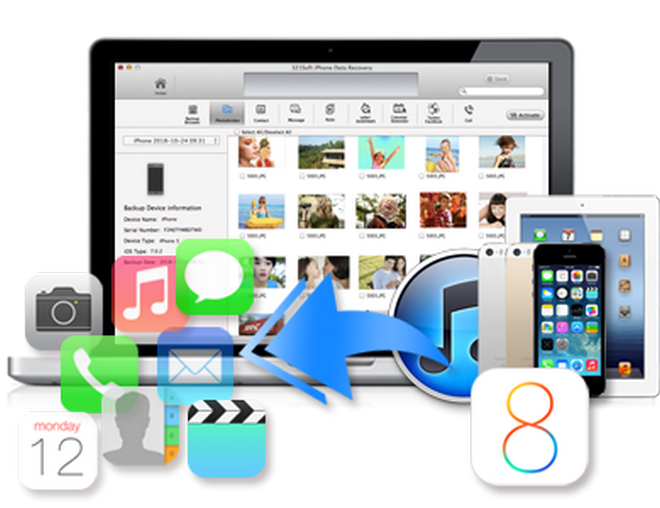 Top 5 iPhone Data Recovery Tools for  Windows/MAC