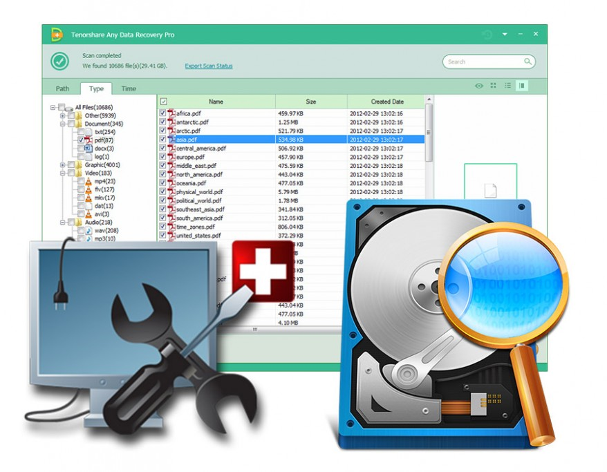 Tenorshare Any Data Recovery – A Wise Data Rescue For Windows/MAC