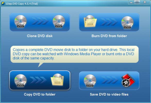 Copy DVD to folder - 1Step DVD Copy
