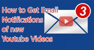 Get-email-notification-of-new-videos-from-Youtube