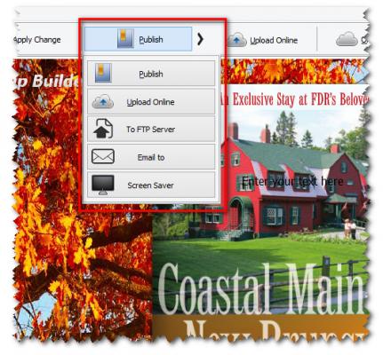 Publish your PDF flipbook
