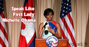 Speak Like First Lady Michelle Obama