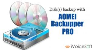 Disks backup using AOMEI Backupper Pro