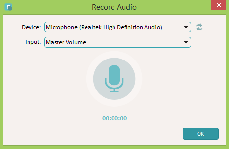 Record your voice for voiceovers