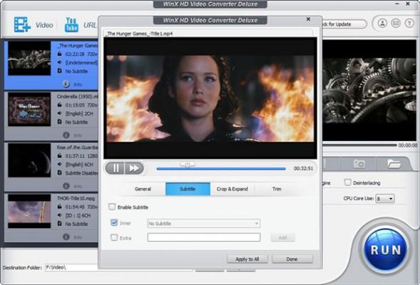 WinX HD Video Converter Deluxe Review & Download