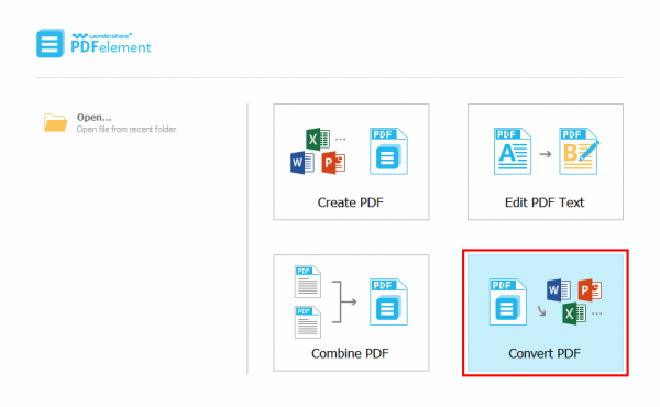 Convert PDF - how to convert pdf to excel without converter