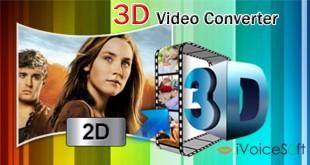 Convert video to 3D format