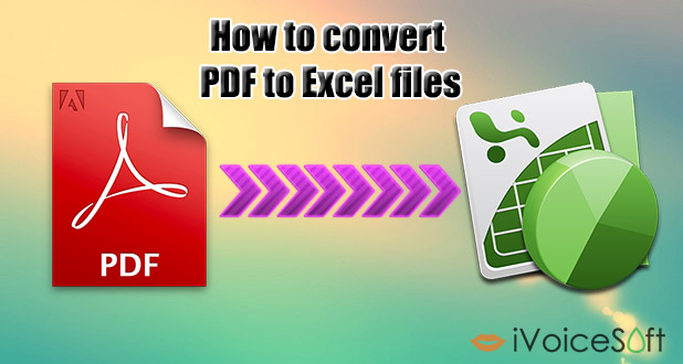 How to Convert PDF to Microsoft Excel