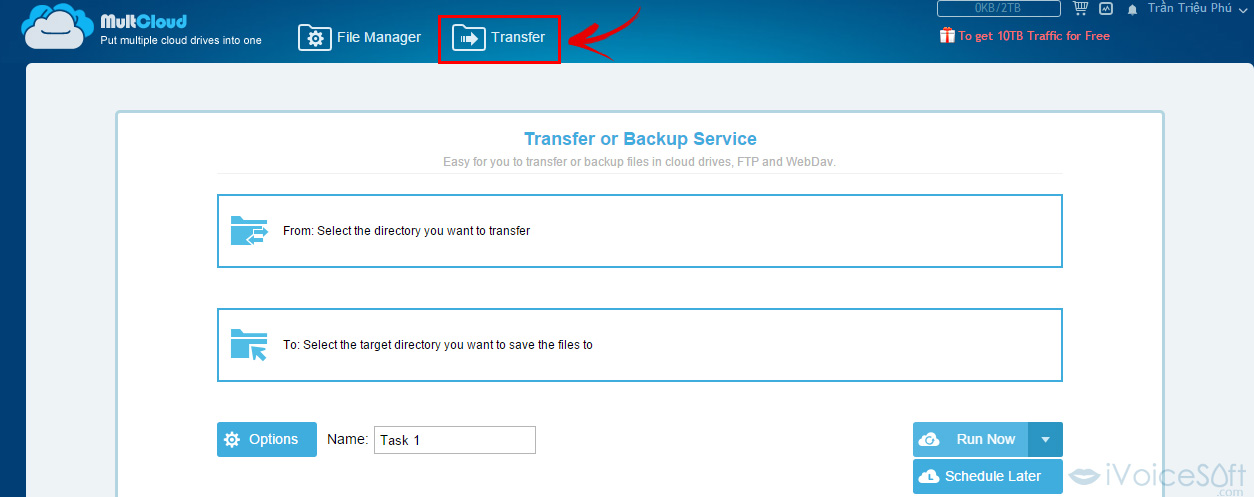 Transfer-or-Backup-Service