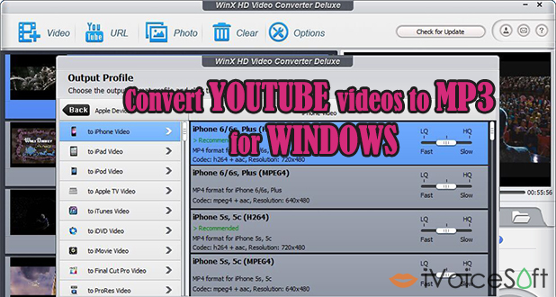 Convert Youtube videos directly to MP3 on PC