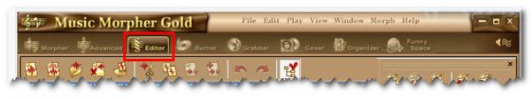 MMG Editor tab