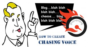 How to create chasing voice