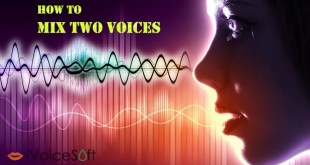 how to mix two voices for a duet