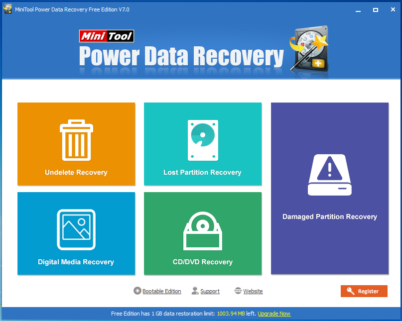 How to Recover Lost Data with MiniTool Power Data Recovery