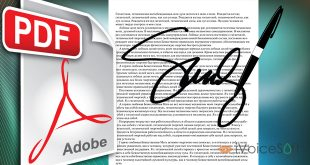 Create digital signature for PDF