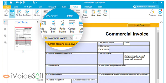 How to create advanced fillable PDF forms