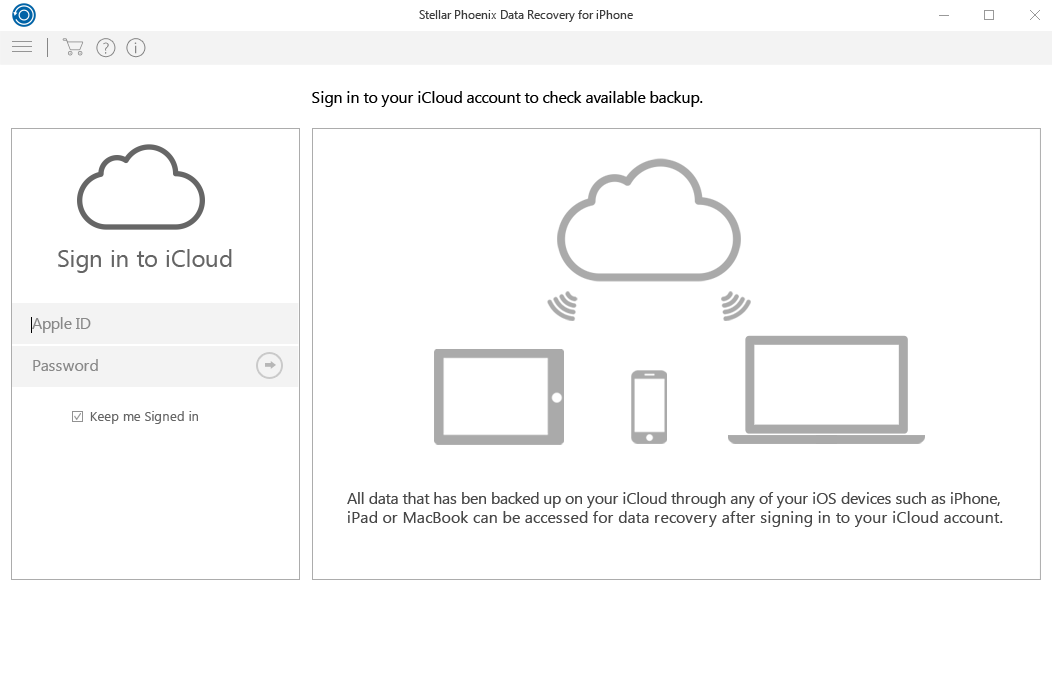 get a list of all available backup files from icloud