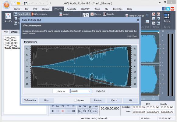 AVS - Editor, avs4you, top 4 audio editor software