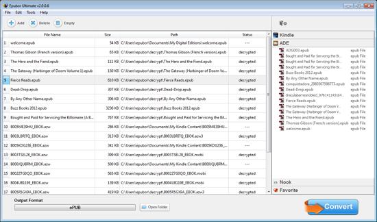 Add ebook files
