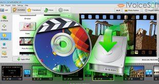 Burn slideshow to DVD
