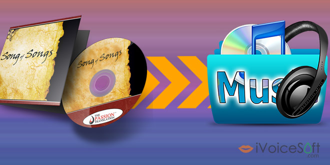 How to rip tracks from CDs to hard disk  drive