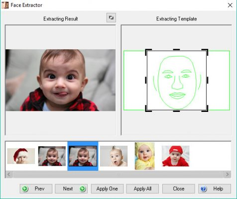 Face extractor 2