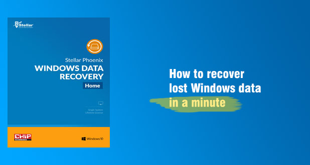 How to recover lost Windows data with Stellar Phoenix Data Recovery