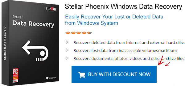 Stellar Phoenix Windows Data Recovery coupon codes