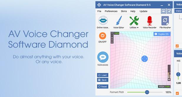 AV Voice Changer Software Diamond 9.5 – Free Download