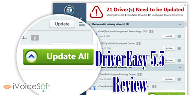 Driver Easy 5.5 REVIEW