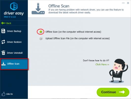 Offline Scan