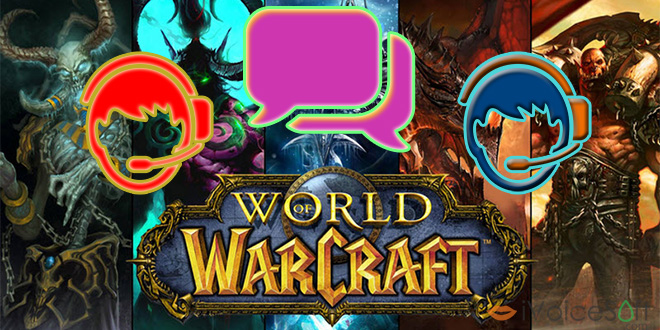 Change voice in World of Warcraft - VCSD