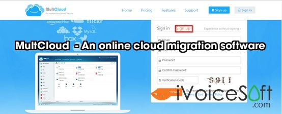 MultCloud  - An online cloud migration software