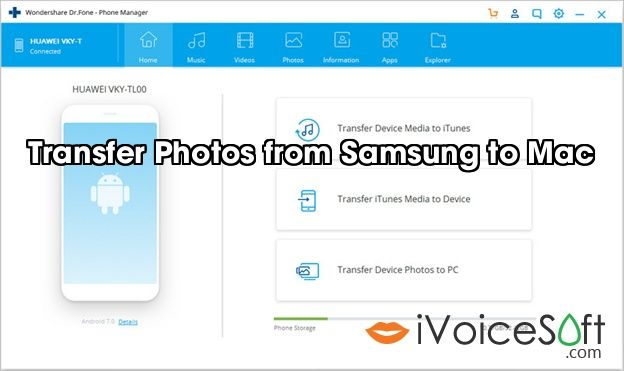 Transfer Photos from Samsung to Mac