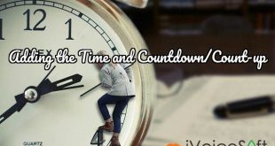 Adding the Time and Countdown/Count-up