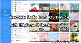 Recover Data from iOS Device   with iMyFone D-Back