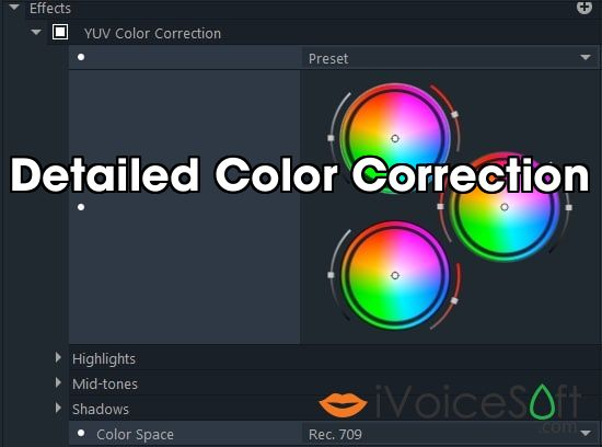 Detailed Color Correction