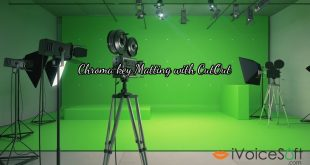 Chroma key Matting with CutOut