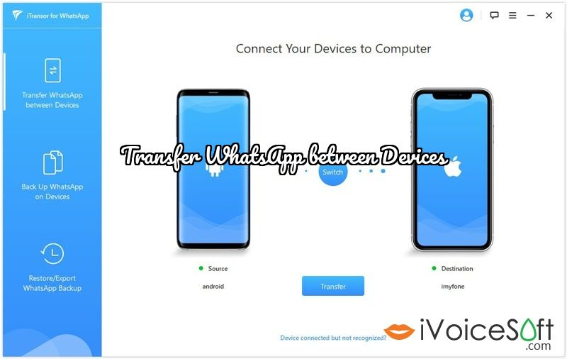 Transfer WhatsApp between Devices