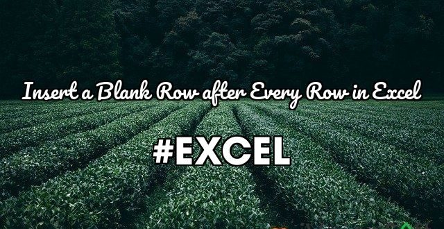 #EXCEL